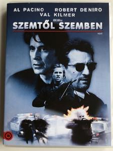 Heat DVD 1995 Szemtől Szemben / Directed by Michael Mann / Starring: Al Pacino, Robert de Niro, Val Kilmer (5996514000191)
