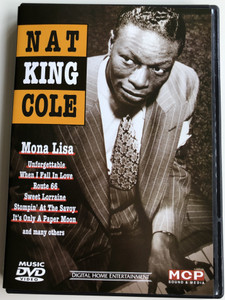 Nat King Cole DVD Mona lisa, Unforgettable, When I Fall in Love, Route 66 / MCP Sound & Media (9002986612209)