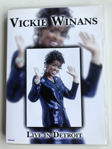 Vickie Winans DVD 2004 Live in Detroit / Spirit of the Living God, Old Gospel Melody, Oh what Love, O Holy Lamb / Carinco AG / Christian songs and worship (5055137185804)