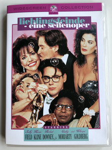 Soapdish DVD 1991 Lieblingsfeinde - eine Seifenoper / Directed by Michael Hoffman / Starring: Sally Field, Kevin Kline, Robert Downey Jr., Cathy Moriarty, Whoopi Goldberg (4010884502374)