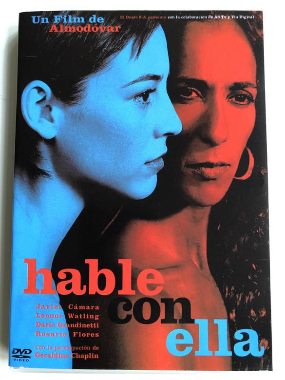 Hable con Ella DVD 2002 Talk to her / Directed by Pedro Almodóvar / Starring: Javier Cámara, Darío Grandinetti, Leonor Watling, Geraldine Chaplin, Rosario Flores (7321926936505)
