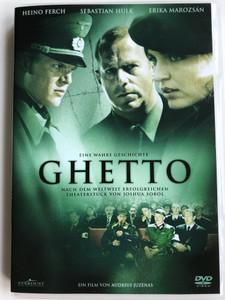Ghetto DVD 2006 / Directed by Audrius Juzenas / Starring: Heino Ferch, Sebastian Hülk, Erika Marozsán, Andrius Zebrauskas (4030521453401)