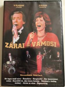 Záray Márta - Vámosi János DVD 2000 / Közreműködik: Antal Imre / Ketten az úton, Járom az utam, Homokóra, Köszönet a boldog évekért /  Artmedia International