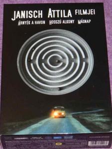 Árnyék a havon, Hosszú alkony, Másnap DVD / 4 DVD Box Set / Hungarian Films directed by Janisch Attila / Janisch Attila filmjei díszdoboz (5996357344063)
