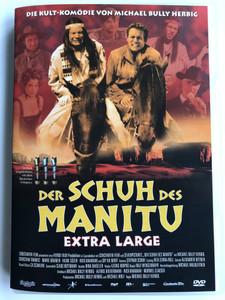 Der Schuh des Manitu Extra Large DVD 2001 Manitou's Shoe / German Western Parody / Directed by Michael Herbig / Starring: Michael Herbig, Christian Tramitz, Rick Kavanian ,Sky du Mont, Marie Bäumer, Hilmi Sözer (828765523899)
