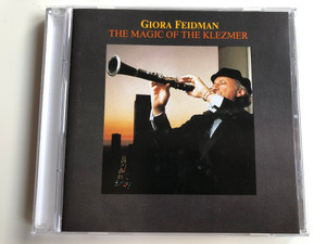 Giora Feidman ‎– The Magic Of The Klezmer / pläne Audio CD 1990 / 88708