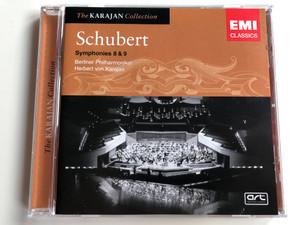 The Karajan Collection / Schubert – Symphonies 8 & 9 / Berliner Philharmoniker, Herbert von Karajan / EMI Classics Audio CD Stereo / 7243 4 76895 2 9