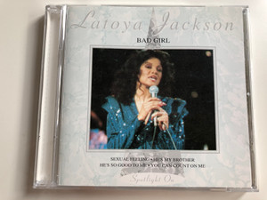 Latoya Jackson ‎– Bad Girl / Sexual Feeling, Hes My Brother, He's So Good To Me, You Can Count On Me / Javelin Audio CD 1993 / HAD CD 111