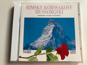 Rimsky-Korsakoff Mussorgski ‎– Sheherezade / Pictures At An Exhibition / Elap ‎Audio CD 1990 / 3223CD