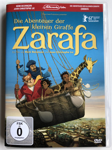 Die Abenteuer der kleinen Giraffe Zarafa DVD 2012 Zarafa / Directed by Rémi Bezançon, Jean Christophe Lie / French Animated film / Giraffe given to Charles X of France by Muhammad Ali of Egypt (887654393098)