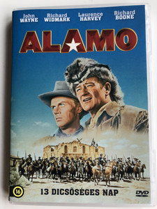 The Alamo DVD 1960 Alamo - 13 Dicsőséges nap / Directed by John Wayne / Starring: John Wayne, Richard Widmark, Laurence Harvey (5999546336870)