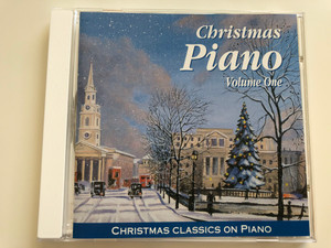 Christmas Piano - Volume One / Christmas Classics On Piano / Elap Music Audio CD 1995
