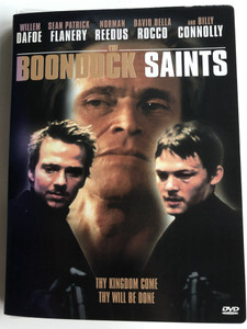 The Boondock Saints DVD 1999 / Directed by Troy Duffy / Starring: Willem Dafoe, Sean Patrick Flanery, Norman Reedus, David Della Rocco, Billy Connolly (024543028079)