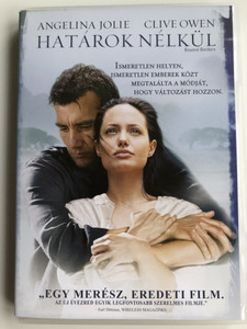 Beyond Borders DVD Határok nélkül / Directed by Martin Campbell / Starring: Angelina Jolie, Clive Owen, Teri Polo, Kate Ashfield (5996051310272)