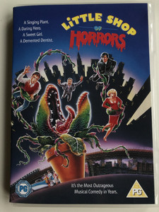 Little Shop of Horrors DVD 1986 / Directed by Frank Oz / Starring: Rick Moranis, Ellen Greene, Vincent Gardenia, Steve Martin, James Belushi / Most Outrageous Musical Comedy in Years (7321900183253)