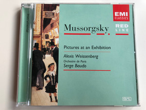 Mussorgsky - Pictures at an Exhibition / Alexis Weissenberg, Orchestre de Paris, Serge Baudo / EMI Classics Audio CD / 7243 5 73752 2 1
