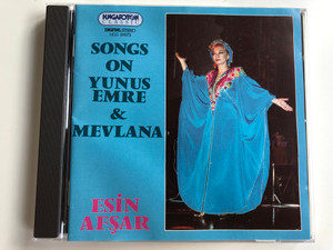 Songs On Yunus Emre & Mevlana / Esin Afsar / Hungaroton Classic Audio CD 1994 Stereo / HCD 31573
