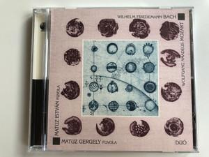 Wilhelm Friedemann Bach, Wolfgang Amadeus Mozart / Flute: Matuz Istvan, Matuz Gergely / DUO / Hoffmann Reserch International Audio CD 2001