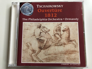 Tchaïkovsky - Overture 1812 / The Philadelphia Orchestra, Ormandy / RCA Victor Silver Seal Audio CD 1988 / VD60618