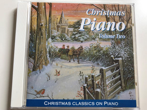 Christmas Piano - Volume Two / Christmas Classics on Piano / Elap Music Audio CD 1995 / 5708574352420