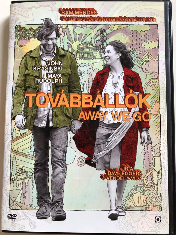 Away We go DVD 2009 Továbbállók / Directed by Sam Mendes / Starring: John Krasinski, Maya Rudolph, Jeff Daniels, Carmen Ejogo (5999544257825)