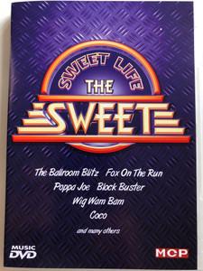 The Sweet - Sweet life DVD / The Ballroom Blitz, Fox on the run, Fever of Love / MCP Sound & Media (9002986611356)