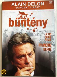 Un Crime DVD 1993 Egy Bűntény / Alain Delon Sorozat 3. rész / Directed by Jacques Deray / Starring: Alain Delon, Manuel Blanc, Sophie Broustal, Maxime Leroux (5996473011887)