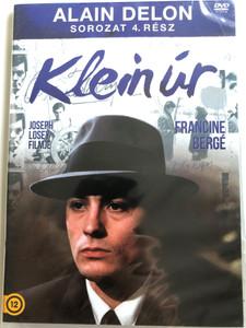 Klein Úr DVD 1976 Mr. Klein / Alain Delon Sorozat 4. / Directed by Joseph Losey / Starring: Alain Delon, Jeanne Moreau, Francine Bergé, Juliet Berto, Jean Bouise, Suzanne Flon (5996473011948)