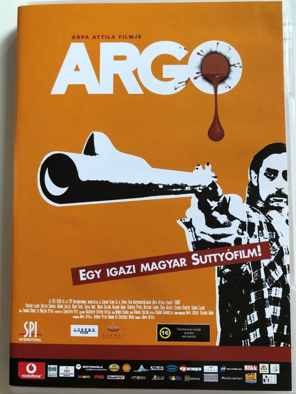 Argo DVD 2004 / Egy igazi Magyar Suttyófilm! / Directed by Árpa Attila / Starring: Kovács Lajos, Oszter Sándor, Görög László Ruttkay Laura, Scherer Péter, Nagy Feró (5999544151444)