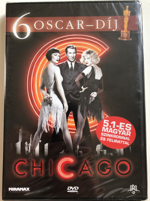 Chicago DVD 2002 The Musical / Directed by Rob Marshall / Starring: Renée Zellweger, Catherine Zeta-Jones, Richard Gere, Queen Latifah (-5999016344275)