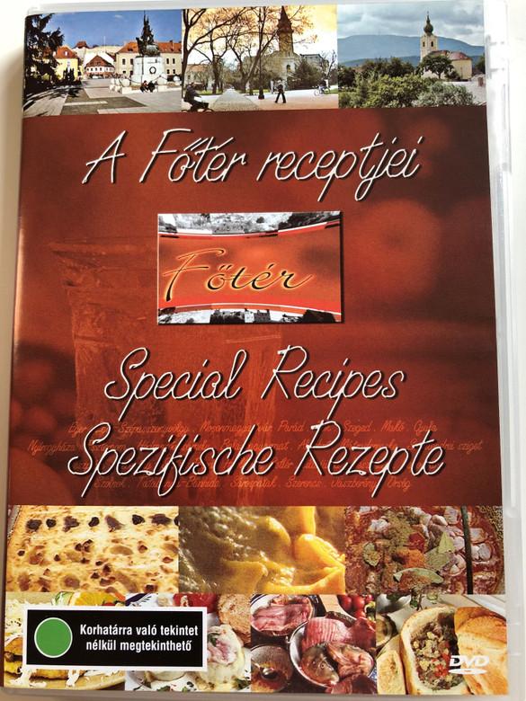 A Főtér receptjei DVD Special Recipes - Spezifische Rezepte / Directed by Ágnes Csenterics, Gábor Péter, András Komlós H.S.D, Csaba Zs. Varga / Gastronomic pleasures throughout Hungary's wonderful landscapes (5996357312116)