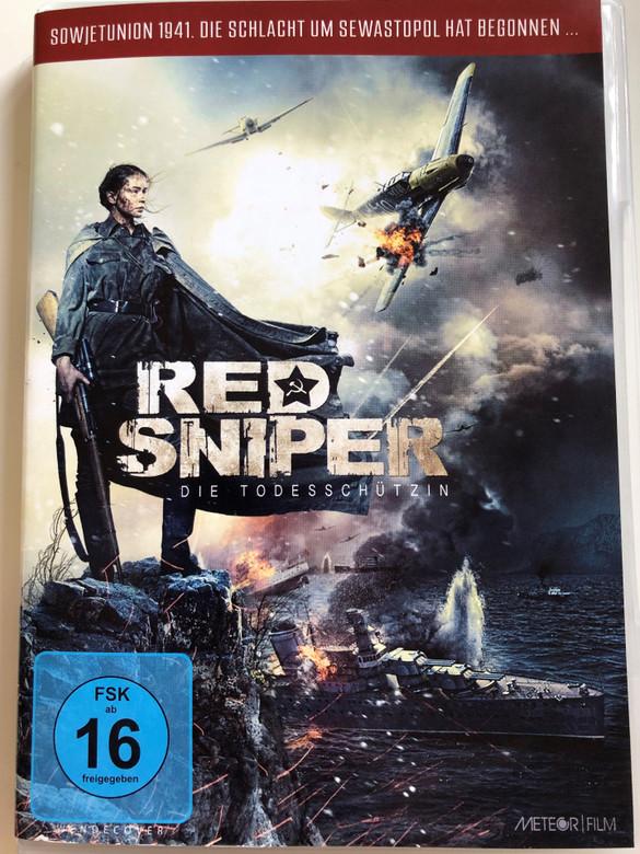 Red Sniper DVD Die Todesschützin / Sowjetunion 1941 Die Schlacht um Sewastopol hat begonnen / Directed by Sergey Mokritskiy / Starring: Yuliya Peresild, Joan Blackham, Evgeniy Tsyganov (4042564164497)