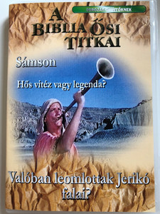 A Biblia Ősi Titkai - Sámson - hős vitéz vagy legenda? / Valóban leomlottak Jerikó falai? / Hungarian language Collectors edition Biblical Archeology - Samson - hero or legend, Did the walls of Jericho really fall down? Sorozat Gyújtőknek (9781559457354)