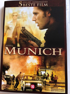 Munich DVD 2005 / Directed by Steven Spielberg / Starring: Eric Bana, Daniel Craig , Ciarán Hinds, Mathieu Kassovitz , Hanns Zischler, Geoffrey Rush (8717721880270)