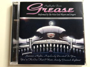 Highlights From Grease / Performed By The West End Players and Singers / Bellevue Entertainment Audio CD 2000 / 10422-2