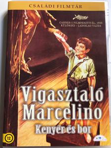 Marcelino pan y vino DVD 1955 Vigasztaló Marcelino - Kenyér és Bor / Directed by Ladislao Vajda / Starring: Rafael Rivelles, Fernando Rey, Pablito Calvo / Családi Filmtár (5999886089504)