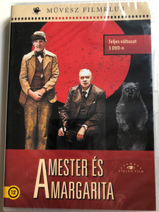 Master i Margarita DVD 2005 A Mester és Margarita / Full movie on 3 DVDs / Directed by Vladimir Bortko / Starring: Aleksandr Galibin, Anna Kovalcuk, Oleg Basilasvili, Vladislav Galkin / Based on M. A Bulgakov's novel (5999886089641)
