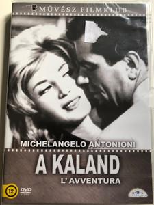 L' Avventura DVD 1960 A Kaland / Directed by Michelangelo Antonioni / Starring: Monica Vitti, Gabriele Ferzetti, Lea Massari, Dominique Blanchar / Black & White (5999885039807)