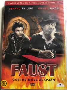 La Beauté du Diable DVD 1950 Faust (Beauty and the Devil) / Goethe műve alapján / Based on Goethe's work / Directed by René Clair / Starring: Gérard Philipe, Michel Simon, Carlo Ninchi, Raymond Cordy / Black & White (5999886089948)