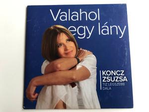 Valahol Egy Lány - Koncz Zsuzsa / Hungaroton Audio CD 2013 / HCD 71275
