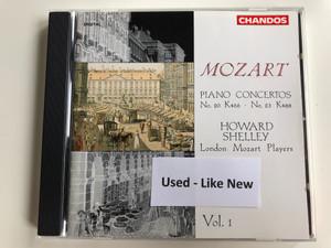 Mozart - Piano Concertos No. 20 k466, No. 23 k488 / Howard Shelley / London Mozart Players / Vol. 1 / Chandos Records Audio CD 1991 / CHAN 8992