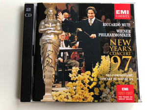 Riccardo Muti / Wiener Philharmoniker ‎/ New Year's Concert '97 / Neujahrskonzert Concert Du Nouvel An / EMI 1897-1997, 100 Years Of Great Music / EMI Classics 2x Audio CD 1997 Stereo / 7243 5 56336 2 0
