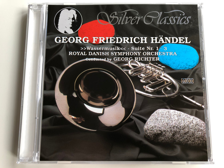 Georg Friedrich Handel / ''Wassermusik'' - Suite Nr. 1 - 3 / Royal Danish Symphony Orchestra / Conducted By: Georg Richter / Silver Classics Audio CD 1989 / SC 017