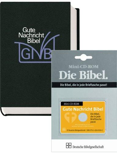 Das Gute Nachricht-Kombipaket: Gute Nachricht Senfkornbibel und Mini CD-ROM im Scheckkartenformat / German language Good News Bible (9783438016973)