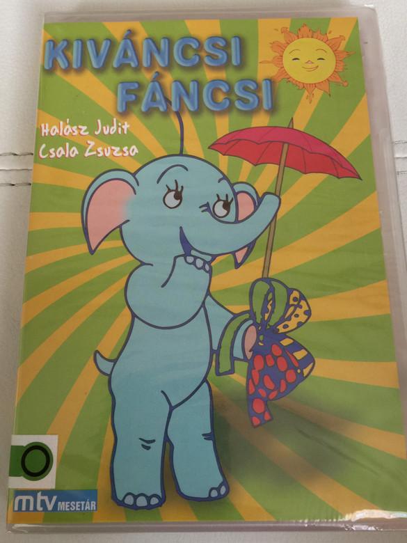 Kíváncsi fáncsi DVD 1989 Hungarian language cartoon series / Directed by Richly Zsolt / Written by Tordon Ákos Miklós / Voices: Halász Judit, Csala Zsuzsa (5998329508336)