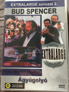 Extralarge - Cannonball DVD Extralarge Ágyúgolyó - 2 miami / Episode: Cannonball - Ágyúgolyó / Directed by Enzo G. Castellari / Starring: Bud Spencer, Philip Michael Thomas, Vivian Ruiz (5999553601732)