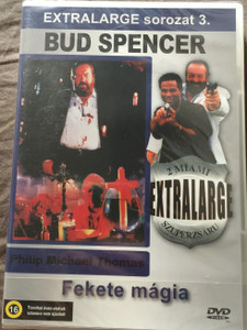 Extralarge - Black Magic DVD 1992 Extralarge Fekete mágia - 2 miami szuperzsaru / Episode: Cannonball - Ágyúgolyó / Directed by Enzo G. Castellari / Starring: Bud Spencer, Philip Michael Thomas, Vivian Ruiz / Extralarge sorozat 3. (5999553601749)