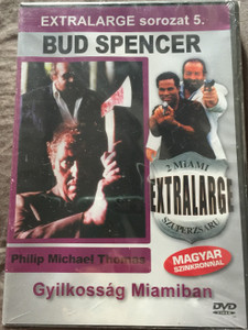 Extralarge Miami Killer DVD 1991 Extralarge Gyilkosság Miamiban - 2 miami szuperzsaru / Directed by Enzo G. Castellari / Starring: Bud Spencer, Philip Michael Thomas, Vivian Ruiz / Extralarge sorozat 5. (5999553601763)