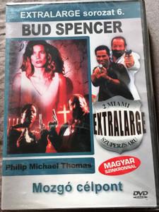Extralarge - Moving Target DVD Extralarge Mozgó célpont - 2 miami szuperzsaru / Directed by Enzo G. Castellari / Starring: Bud Spencer, Philip Michael Thomas, Vivian Ruiz / Extralarge sorozat 6. (5999553601770)