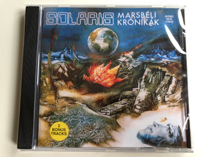 Solaris – Marsbéli Krónikák = The Martian Chronicles / Gong Audio CD 1995 / HCD 17819